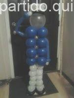 A crafty Captain for your next Nautical Party Más Balloon Columns, Balloon Arch, Sailor Party, Cruise Party, Nautical Party, Anchor Party, Love Balloon, Balloon Decorations, Halloween Decorations
