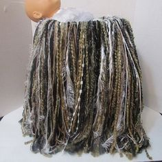 neutral colored fringe blanketphoto by Photopropsnthings on Etsy