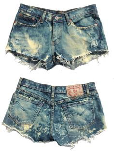 i want some acid washed shorts....so cute
