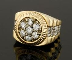 14K Yellow Gold and Diamond Ring June 20th Estate Auction | Kaminski Auctions