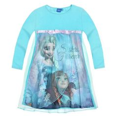 Going to bed won't be a problem anymore when your little Frozen fan can slip into this pretty Disney Frozen Elsa princess nightdress! Fast & Free UK delivery!