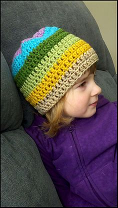 Ravelry: Basic Beanie pattern by Busy Mom Designs