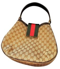 Gucci New Web Hobo Bag. Hobo bags are hot this season! The Gucci New Web Hobo Bag is a top 10 member favorite on Tradesy. Get yours before they're sold out!