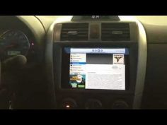 FIRST EVER IPAD MINI INSTALLED INTO DASHBOARD OF A CAR