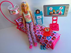 Barbie Loves Paul Frank Doll with Paul Frank Bedroom - Target Exclusive 2012  by Nataloons, via Flickr
