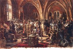 W Łęczycy pierwszy sejm - Spisanie praw - Ukrócenie rozbojów