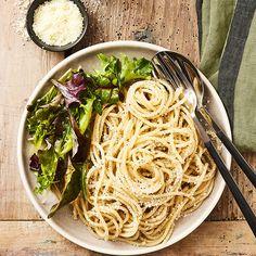 Spaghettis au poivre et pecorino - illico Fresco