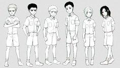 Marley | Galliard | Marcel (Berwick) | Reiner | Bertholdt | Annie |  Pieck | Shingeki no Kyojin |  Attack on titan | SNK