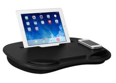 Media Travel Lap Desk For Notebook Tablets And Phones Multiple Colo Brats On Board