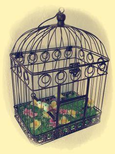 jaula decorada
