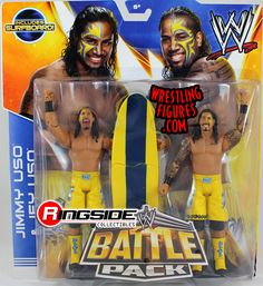 The Usos (Jimmy & Jey) - WWE Battle Packs 28 | Ringside Collectibles