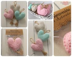Cute Crochet Crochet Home Beautiful Crochet Crochet Yarn Baby Shower Souvenirs Corazon Crochet Baby Shawer Knitting For Kids Crochet Accessories Crochet Home, Love Crochet, Beautiful Crochet, Crochet Baby, Knit Crochet, Crochet Motifs, Crochet Patterns, Baby Shower Souvenirs, Knitting For Kids