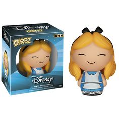 This is a Disney Alice In Wonderland Dorbz Alice Vinyl Figure that's produced by the good folks over at Funko and Vinyl Sugar. Super cute! Alice in Wonderland fans are sure to be excited by seeing Ali