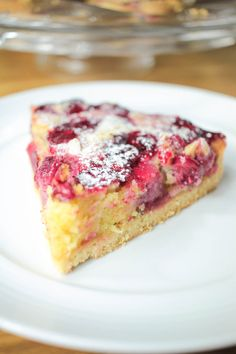 This Galley Gourmet: Strawberry Rhubarb Coffee Cake is a good for our Lunch made with wholesome ingredients! Sweet Pie, Sweet Tarts, Sweet Bread, Cranberry Orange Bread, Cranberry Cake, Orange Zest, Tart Recipes, Sweet Recipes, Dessert Recipes