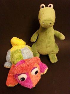Kohls Cares LOT of 2 Plush Stuffed Animals Chameleon And Cornelius Leo Lionni  #KohlsCares
