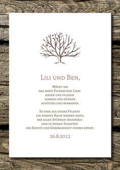Wand-Deko - Druck/Wandbild/Print: Segenswunsch (Hochzeit)