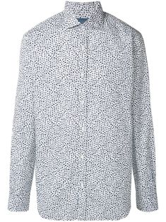 Barba floral-print shirt - White