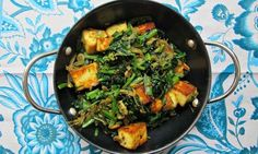 The perfect saag paneer