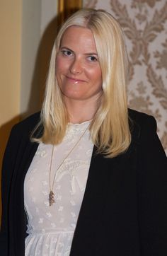Crown Princess Mette-Marit of Norway 4/16/13