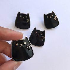 Kitty Hi Pin by LoveAndPaperNY on Etsy