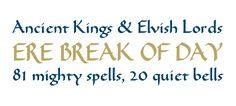 Karolinger OT published by Elsner+Flake. #fonts #hobbit