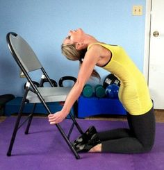 Yoga poses & stretches to combat poor posture and rounded shoulders Posture Exercises, Back Exercises, Training Exercises, Exercises For Rounded Shoulders, Workouts, Fitness Tips, Fitness Motivation, Health Fitness, Wods Crossfit