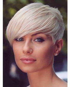 Credits to @fanniewilkens #shorthair #shorthairideas #BlondeHair #pixiecut #pixiehair #bobhaircut #bob #trend #trendyhair…