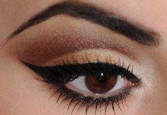 10 maquillages pour les yeux bruns vus sur Pinterest