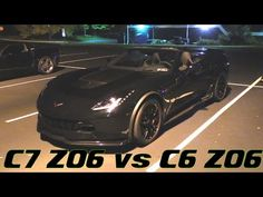 BK34 Z06 CLASHES with C7 Z06 Corvette & ProCharged Mustang