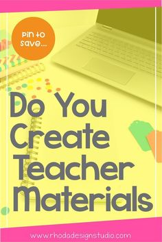 Do you create teacher materials for your classroom? Designing lesson plans for your students and classroom has many benefits including increased classroom management, classroom organization, and endless supply of ideas, and custom worksheets. Teacher Created Resources, Teacher Blogs, Teacher Pay Teachers, Teacher Stuff, Teacher Created Materials, Teacher Hacks, Powerpoint Lesson, Importance Of Time Management, Math Intervention