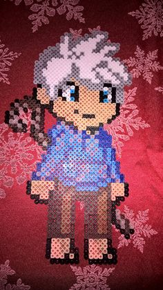 jack frost perler (I have an idea for this though)