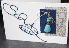 Schutzengel-Karten, #DIY, glass beads, Glasperlen, lampwork, Alexandra Renke, Big Shot, www.Herzschlüssel.de