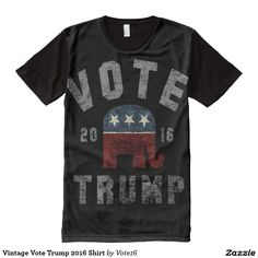 Vintage Vote Trump 2016 Shirt All-Over Print T-shirt