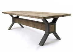 This wooden Historic Table is perfect for the backyard for BBQS, get togethers, to place your growing plants and more. With its rectangular table top made with wood supported by steel as support, this