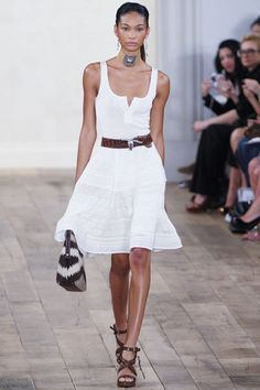 RALPH LAUREN. So comfyy - white dress.