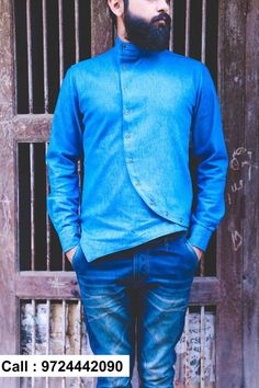 Their already exhaustive range of men's wear collection. Indian Men Fashion, Mens Fashion Wear, Mens Designer Shirts, Designer Clothes For Men, Boys Kurta Design, Kurta Men, Indian Groom Wear, Man Dressing Style, Outfit Grid