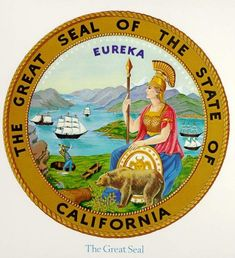 California State Seal - California State Symbols and Emblems