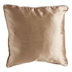 Faux Silk Natural Cushion 43x43cm £4