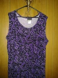 jney easy dressing spandex top for her free ship $13.99 nwt size 26/28 chest 58' waist 58' hip 62'