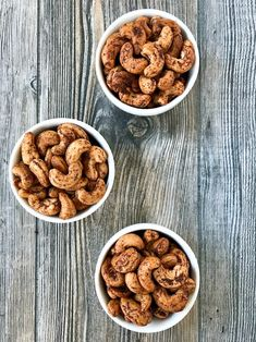 Roasted Spiced Cashews have a touch of sweetness without adding sugar along with a little heat to make them interesting. Want a healthy no-guilt snack? Cashew Recipes, Dairy Free Recipes, Dog Food Recipes, Snack Recipes, Gluten Free, Roasted Cashews, Raw Cashews, Savory Snacks