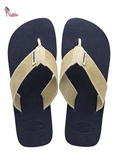 df3d5f9dc9d34a Havaianas - 4132002 - Urban Basic - Tongs - Homme  Amazon.fr  Chaussures et  Sacs. Havaianas Espadrilles Homme Femme Origine III Navy Blue Beige-43 44 EU  ...