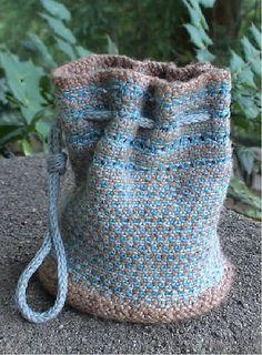Ravelry: Little Linen Stitch Bag pattern by Cindy Walker