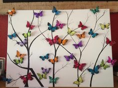 Decoration idea - butterflies