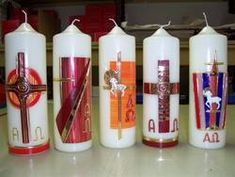 Kerzen St. Florian: Osterkerzen