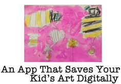 Keep Your Kids Drawings Forever - No more mom guilt for throwing your kid's art away!