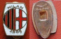 DISTINTIVO FOOTBALL SOCCER ASSOCIAZIONE CALCIO MILAN 1899 MARCATO  MILANO/ITALY