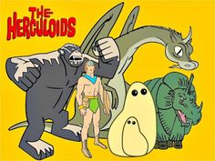 projetor antigo: Os Herculóides 1967 Dubl 1967, Animação, Dublado, Joseph Barbera, William Hanna