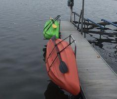 Interesting Idea Marine Grade Kayak Dock Rack
