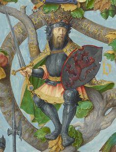 Genealogia dos Reis de Portugal  Pelágio das Astúrias Pelejou contra os mouros. Era visigótico.