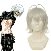 Togainu no Chi Kau Silver Heat Resistant Fiber Short Cosplay Wig